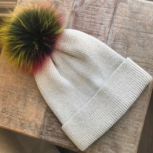 Accessories - Rabbit fur beanie